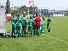 Az Újpest ellen magabiztos győzelem az Admira Wacker otthonában szoros vereség az U12-es akadémiai csapat mérlege